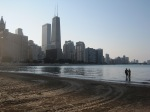 Chicago from beach