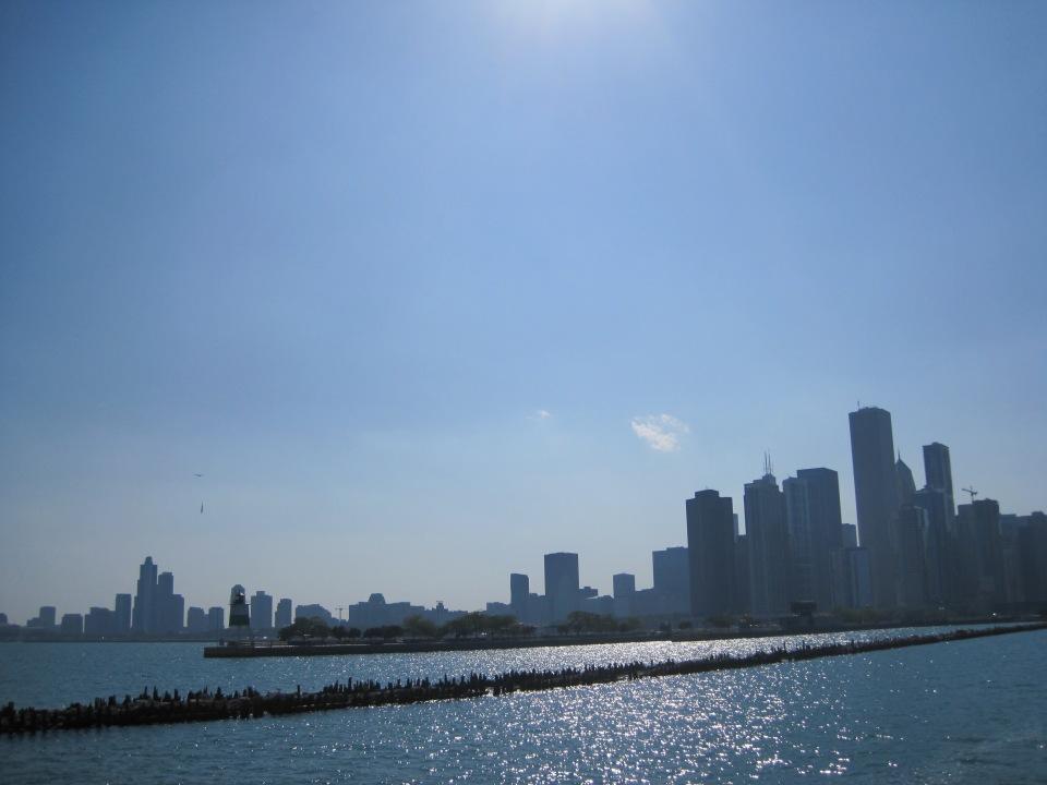 Skyline with pier